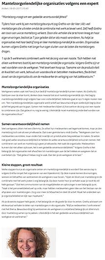 krantenartikel Financieel Dagblad